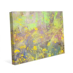 "Click Wall Art 'Blossoming Spring' Painting Print on Wrapped Canvas Size: 30"" H x 40"" W x 1.5"" D"