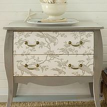 DIY Project of the Week - Wallpaper your furniture!