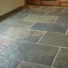 Tumbled Slate Floor Tile