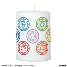 Seven Chakras Candle