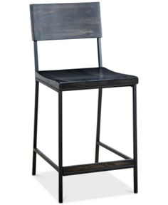 Tacoma Counter Stool, Quick Ship   Black