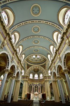 Cathedral of St Patrick Harrisburg Pennsylvania -- had no idea this was right down the road from my home town!