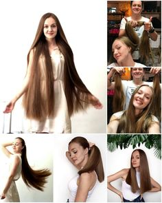 Girls Short Haircuts, Short Girls, Long Hair Cuts, Long Hair Styles, Rapunzel Hair, Beautiful Long Hair, Shearing, Barber Shop, Hair Clips