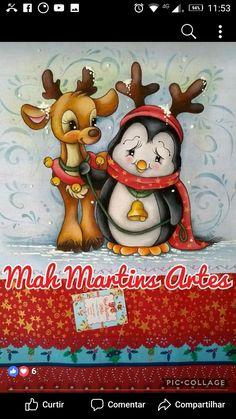 Christmas Rock, Christmas Paper, Christmas Themes, Vintage Christmas, Christmas Decorations, Christmas Drawing, Christmas Paintings, Whimsy Stamps, Christmas Crafts