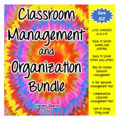 7 products...150 pages...Everything a Middle School teacher needs to get and stay organized! Organizational tools, games, activities, checklists, information sheets, classroom forms, behavior management strategies, and much more! Set your students up for success with this fabulous bundle of classroom management and organization tools! A must-have for your teacher binder, as well as the perfect gift for a first-year teacher or a student teacher!  #classroommanagement #classroomorganization