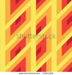 Seamless geometric pattern. by GalaStudio, via ShutterStock