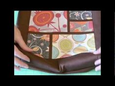 Spoonflower Patchwork Tote Tutorial From Diane Gilleland - YouTube