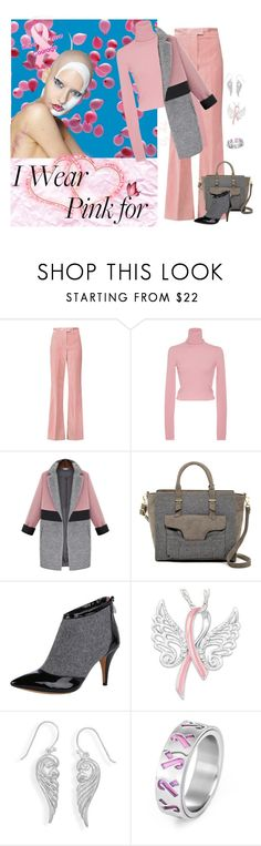 """""""I Wear Pink for... Hope , Love & Courage"""" by selene-cinzia ❤ liked on Polyvore featuring MSGM, A.L.C., Danielle Nicole, Vince Camuto, The Bradford Exchange, BillyTheTree and IWearPinkFor"""