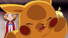 kawaii,anime-It looks like a fat pikachu and I think it's kawaiipokemon kawaii anime fangirl nerd pokemonfan fandom fanaccount starwars fan Pokemon Gif, Pokemon Images, Pokemon Pictures, Pikachu Memes, Pokemon Starters, Pokemon Eeveelutions, Cute Pokemon Wallpaper, Anime Gifts, Funny