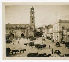 Havana antigua, Cuba La Aduana, Convento de San Francisco de Asís, 1902-1920