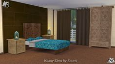 Khany Sims - Chambre sims 4 - sims 4 bedroom