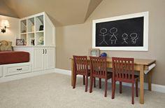 Bonus Room / Guest Room - traditional - kids - raleigh - by Driggs Designs