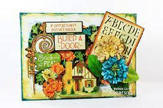 mixed media paper crafts - Google Search