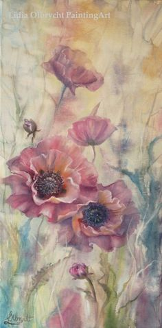 Garden Poppies by Lidia Olbrycht/ Poland