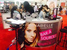 Les maquilleuses en action au Bar à sourcils Annabelle #GalaPJC #galapassionbeauté #MUA