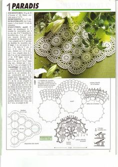 Patterns and motifs: Crocheted motif no. Crochet Motif, Large Tablecloths, Tube Youtube, Thing 1, Assemblage, Making 10, Crochet Scarves, Floral Motif