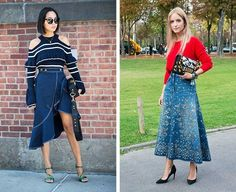 Latest Fashion For Women, Womens Fashion, Fashion Trends, Denim Skirt Outfits, Street Style Looks, Ladies Dress Design, Bellisima, Gorgeous Women, Beautiful Outfits