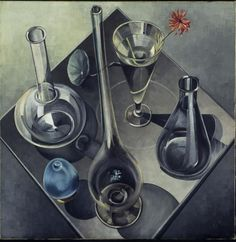 Hannah Höch - Glass Date: Albert Renger Patzsch, Hannah Höch, Still Life Drawing, Bird Drawings, Photorealism, Vanitas, Birds Eye View, Everyday Objects, Wine Decanter