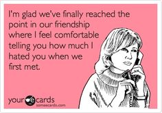 Totally me and my BFF!