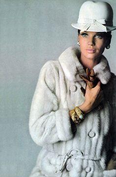 Veruschka by Penn. Vogue 1965