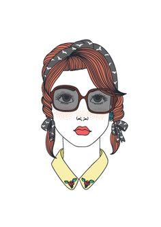 La moda más dulce: llustrando: Andrea Barja