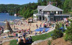 Plage municipale   - Lac Beauport