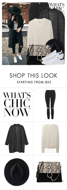 """""""2249. Street Style ⬇⬇⬇"""" by chocolatepumma ❤ liked on Polyvore featuring Oris, Topshop, Monki, 3.1 Phillip Lim, Ryan Roche, Chloé and adidas"""