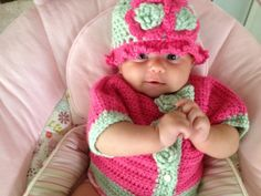 Hand Crochet Sweater  HOT PINK Crop sweater  Big by lisaswick, $27.00
