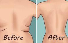 Raak dat overbodig vet op je rug en de kwabben op je onderarmen kwijt met 4 snelle oefeningen