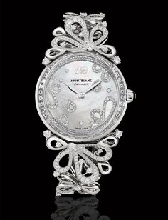 Montblanc Princess Grace de Monaco Pétales de Roses in white gold.