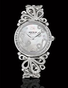 Montblanc Princess Grace de Monaco Pétales de Roses in white gold GG's tiny times ♥
