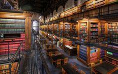 lincoln's inn library (by mariusz kluzniak)