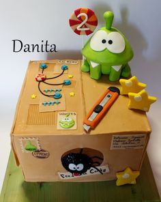 Cut the rope cake