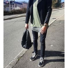 Check out this ASOS look http://www.asos.com/discover/as-seen-on-me/style-products?LookID=228256