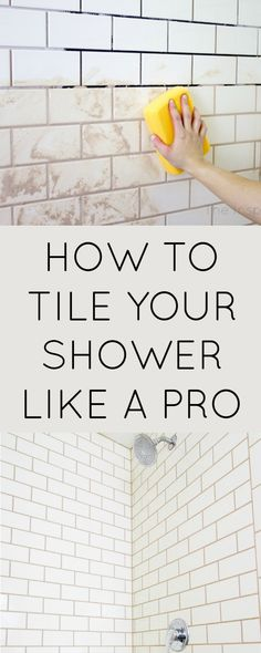 How to tile your shower like a DIY pro