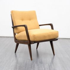 Velvet-Point - armchairs / easy chairs Beautiful 1950s armchair, newly covered, dispo 3 (no. 6964) - Karlsruhe