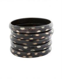 Nest Black Horn Bangle Bracelet SzdgwuZw4
