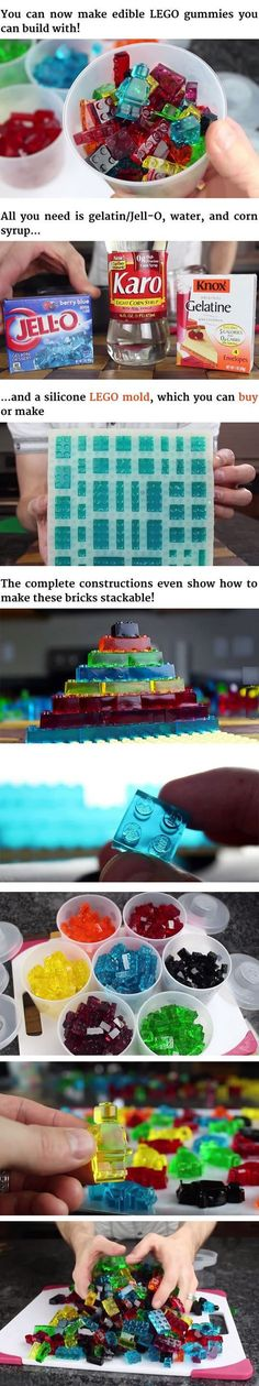 Edible LEGO. WANT!