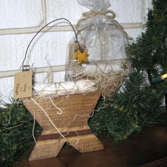 NATIVITY the Way in a Manger a simple Nativity by inbeccascloset, $8.50