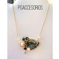 Handmade #pgaccesorios #chapadeoro #collar #cadenita #necklace #goldplated #handmadejewerly #handmadenecklace #handmade #hechoamano #joyeria #piedrasnaturales