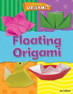 Origami has been popular in Japan for hundreds of years and is now loved all around the world. You can make great models with just one sheet of paper . and this book shows you how! Basic Origami, Origami Folding, Useful Origami, Origami Easy, Best Magician, Make A Paper Airplane, Origami Techniques, Guided Reading Levels