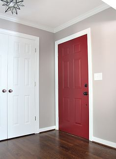 Going to paint the inside of my front door too. Love colour!!
