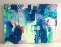 Mette Lindberg maler moderne malerier med masser af farver. Se det store udvalg af moderne malerier og få malet præcis efter dine ønsker.
