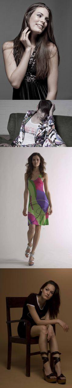 Proyecto de fotografía de moda durante la beca Erasmus en 2009 en la Accademia di belle arti di Brera di Milano.