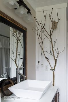 I love including nature in my decor, and I'm always looking for unique decorating ideas that you don't find in every other house on the block… Enter branches! Using branches in decorating is a stroke... Read More