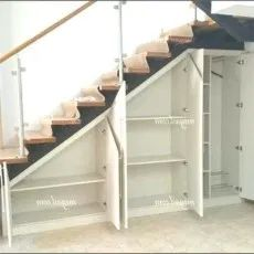Tolle coole Ideen zur Aufbewahrung unter Treppen 1 Great cool ideas for storage under stairs 1 Space Under Stairs, Open Stairs, Under Stairs Cupboard, Under Staircase Ideas, Shelves Under Stairs, Under Stairs Playhouse, Kitchen Under Stairs, Closet Under Stairs, Floating Stairs