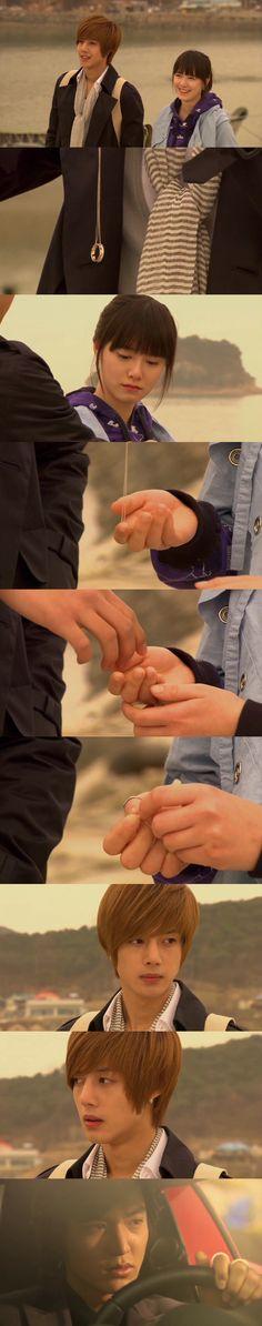 Yes! He proposed!! Nooooo! She turned him down! :'( Geum Jan Di and Yoon Ji Hoo, Boys Over Flowers, Ku Hye Sun, Kim Hyun Joong #KDrama