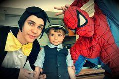 Personaje Petreceri Copii - Mickey Mouse si Spidrman