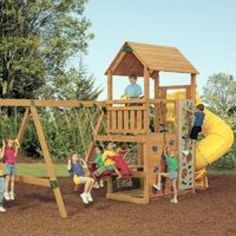 Playstar Ps 7715 Powerhouse Xp Play Set, Single Tower