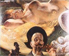 Jacek Malczewski - Harpia We Snie or Harpy Asleep Vintage Artwork, Vintage Posters, Montreal Museums, Art Database, Office Art, Art Festival, Oeuvre D'art, Great Artists, Painting & Drawing